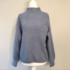 Chicwish Mock Neck Sweater
